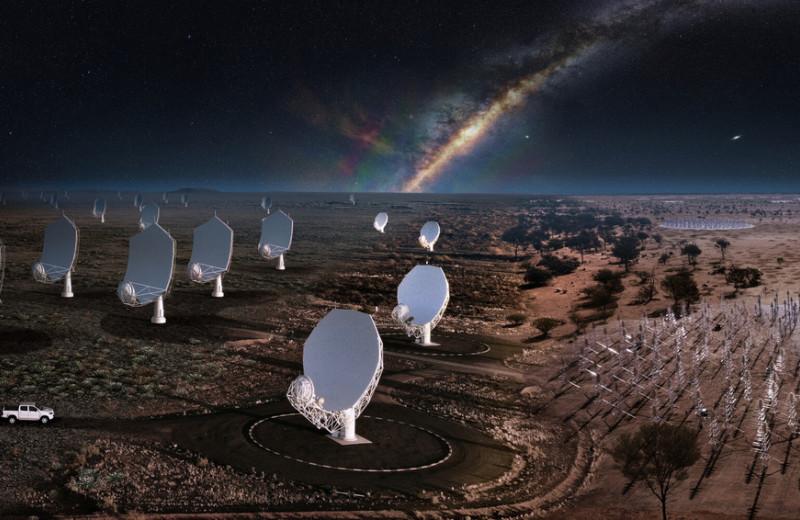 Великий SKAO: зачем строится самый большой в мире телескоп
