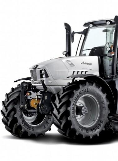 5 тракторов от Porsche и Lamborghini
