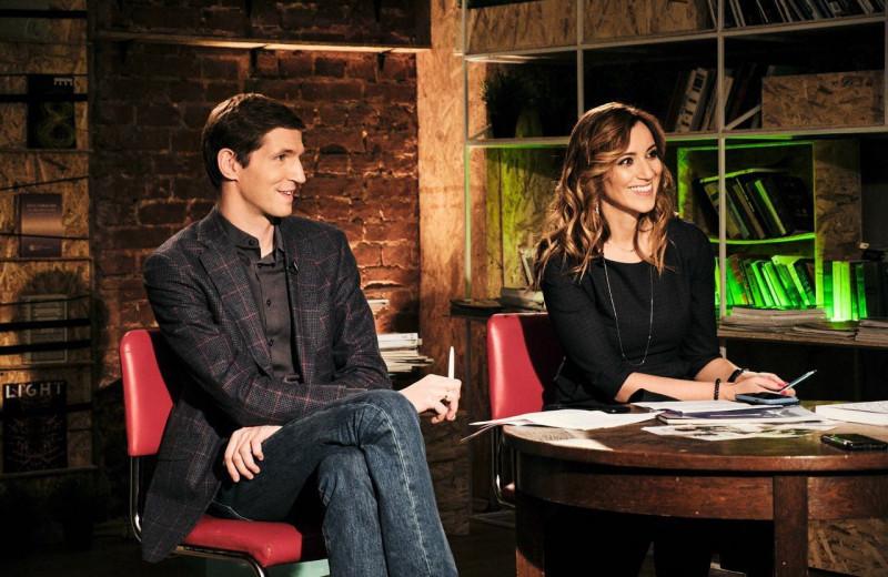 О любви и работе: журналисты Тихон Дзядко и Катерина Котрикадзе в новом сезоне подкаста Forbes «Тандемократия»