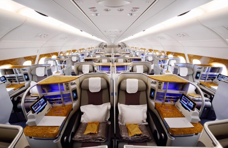 Каково это – летать первым классом: пример Эмирейтс