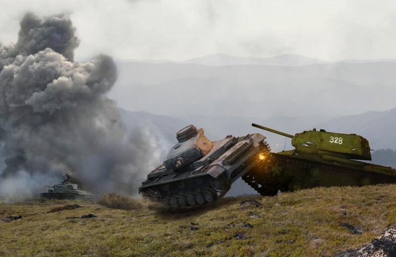 Танковый таран – оружие смелых