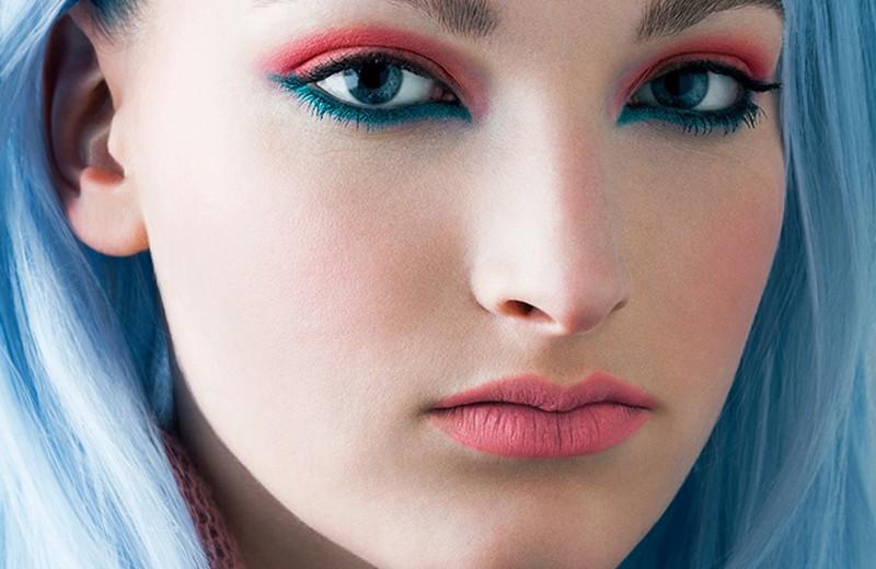 Лазурный Берег: как выбрать оттенок голубых волос