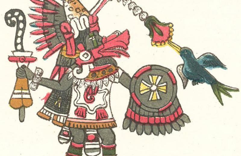 Под пирамидой Пернатого Змея в Мексике найдены букеты цветов
