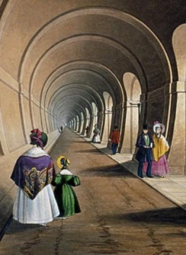 Тоннель под Темзой: драматическая история строительства первого в мире тоннеля под рекой