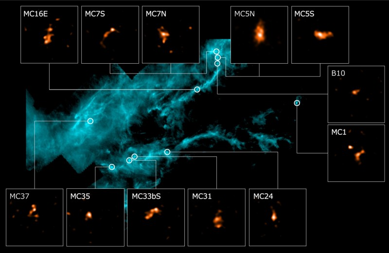 ALMA нашла кандидата в первого зародыша звезды в облаке Тельца
