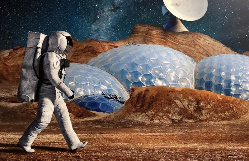 Почему жители марсианских городов могут стать болезненными очкариками