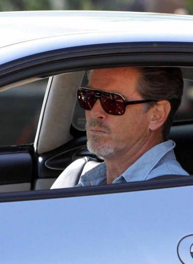 Коллекция автомобилей Пирса Броснана идеально соответствует статусу бывшего агента 007