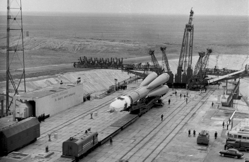Рокот космодрома: архивное фото
