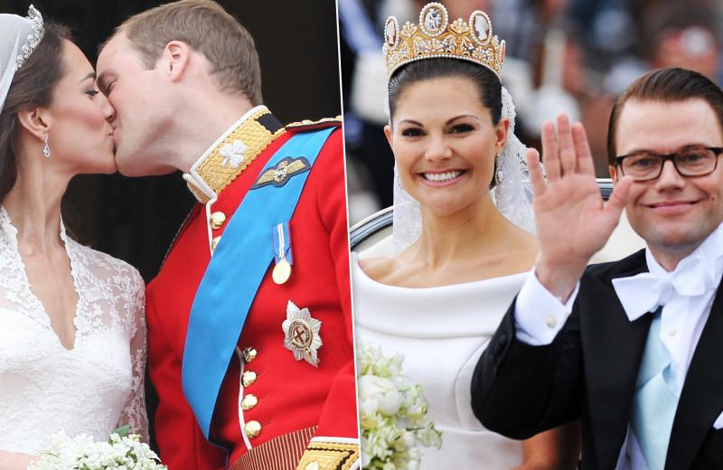 Не по статусу! Принцессы и принцы, которые сыграли свадьбу с простолюдинами