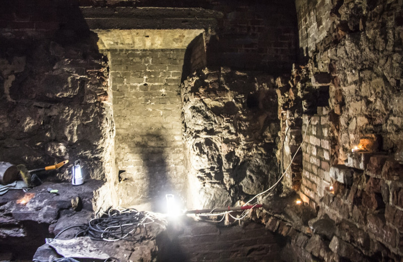 В Выборгском замке обнаружили четыре пороховых погреба