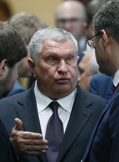 Reuters заподозрило окружение Игоря Сечина в использовании самолетов «Роснефти» в личных целях