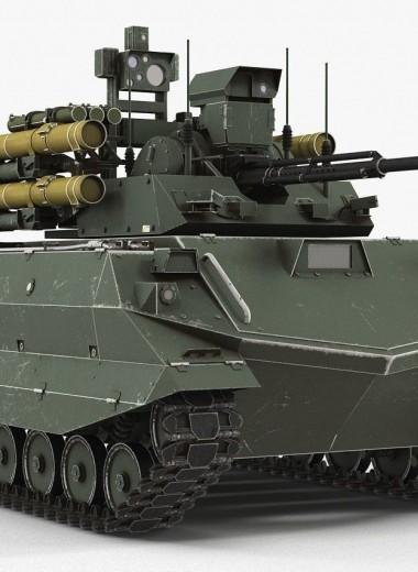 """Наземный беспилотник """"Уран-9"""": куча проблем или достоинств?"""