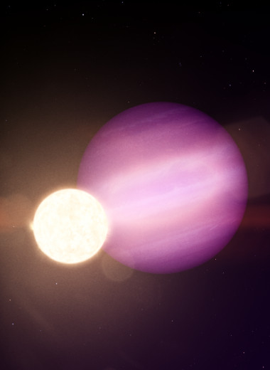 У белого карлика впервые нашли экзопланету. Она в 10 раз больше самой звезды!