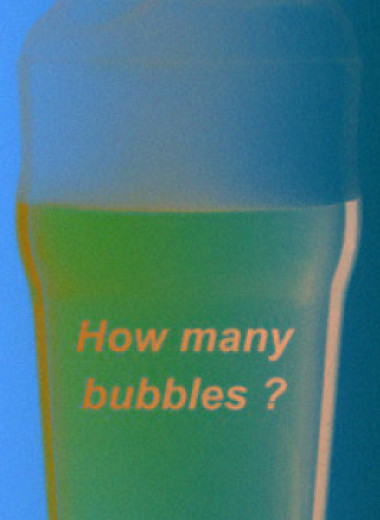 Химики посчитали пузырьки в бокале пива
