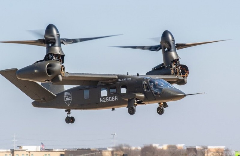 На смену «Черному ястребу»: конвертоплан Bell V-280 Valor