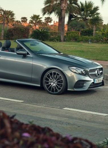Кабриолет Mercedes Е-Класса может вызвать неконтролируемые приступы счастья…
