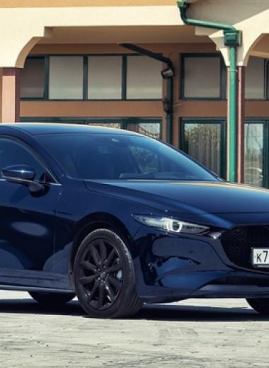 50 оттенков нежности. Тест-драйв Mazda3