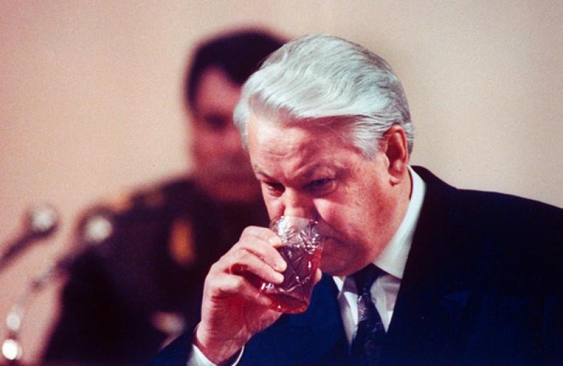 Алкогений: Борис Ельцин