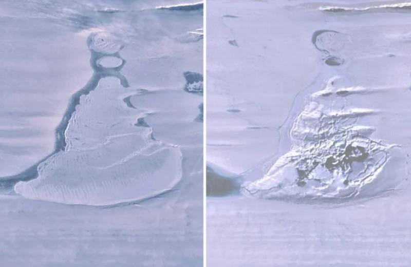 Гигантское антарктическое озеро исчезло всего за 3 дня