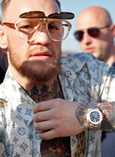 Какие часы носит Конор Макгрегор?