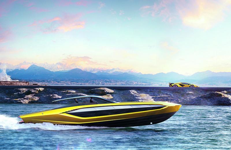 Суперкар на воде: как создавалась скоростная яхта Tecnomar for Lamborghini63