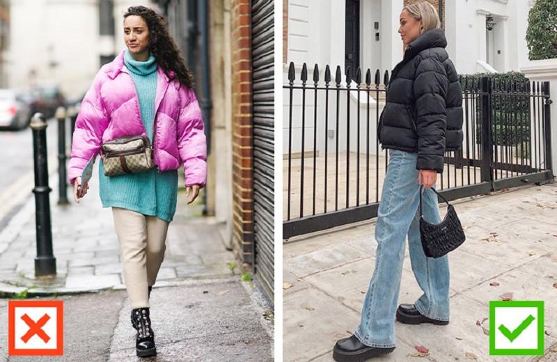 Грубые ошибки с длиной верхней одежды: исправь их, чтобы не выглядеть безвкусно