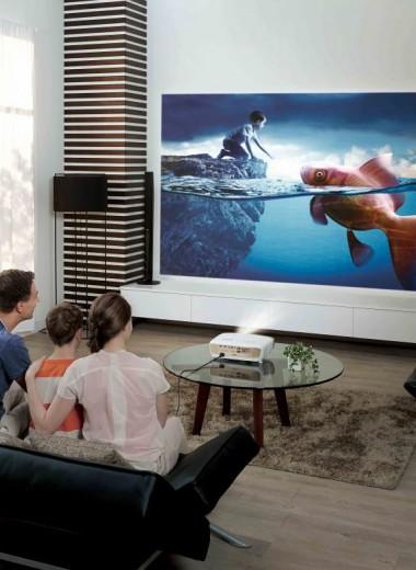 ТОП-5 проекторов для домашнего кинотеатра с наилучшим качеством изображения