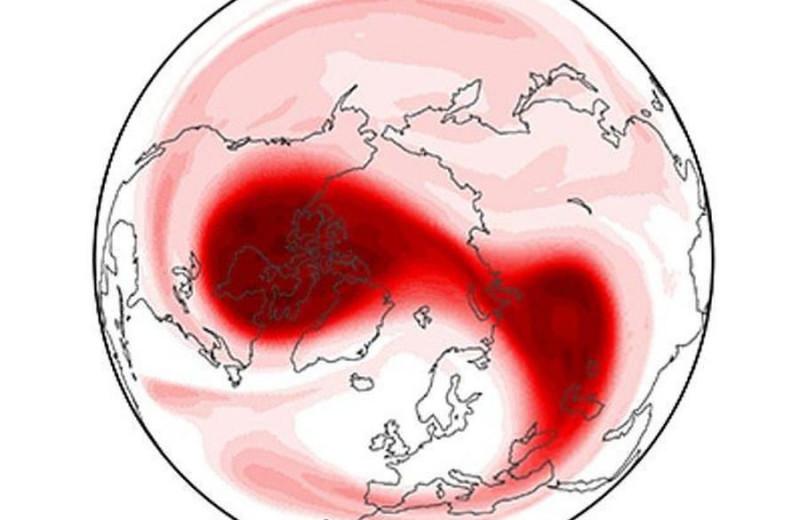 Почему потепление стратосферы над Северным полюсом вызывает похолодание в Европе