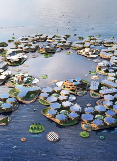 Плавучий город будущего: новый проект поддержала ООН