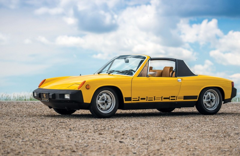 Porsche 914: спорткар для бедных, или подстава от Volkswagen