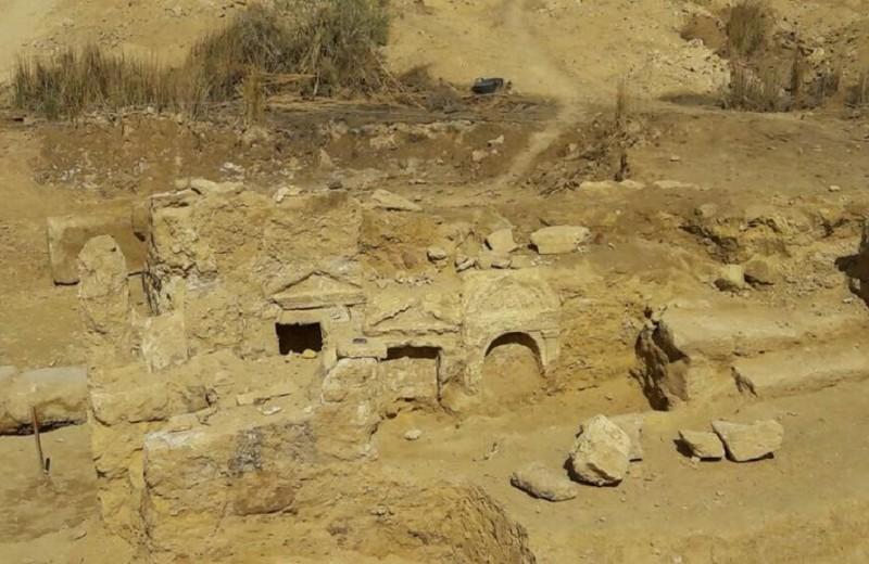 В Египте найдены руины загадочного храма