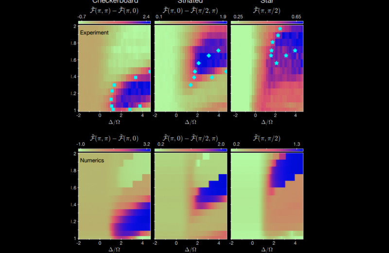 256-кубитный программируемый квантовый симулятор помог обнаружить новые квантовые фазы