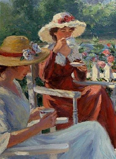 Как в старые-добрые времена: 5 правил чаепития на даче в саду