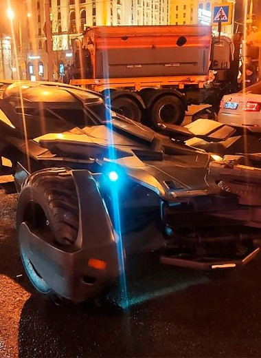 Бэтмобиль и гигантский Beetle. 7 самых необычных машин для города