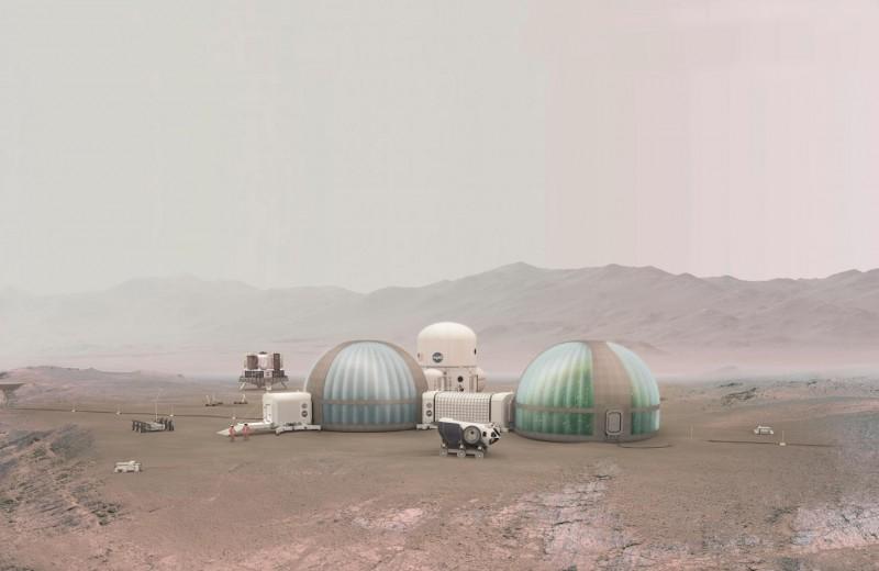8 культур и беговые дорожки: какой будет футуристическая марсианская теплица