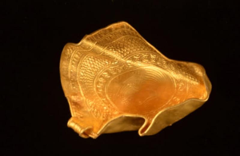 Датский археолог-любитель нашел крупный клад золотых медальонов возрастом 1500 лет