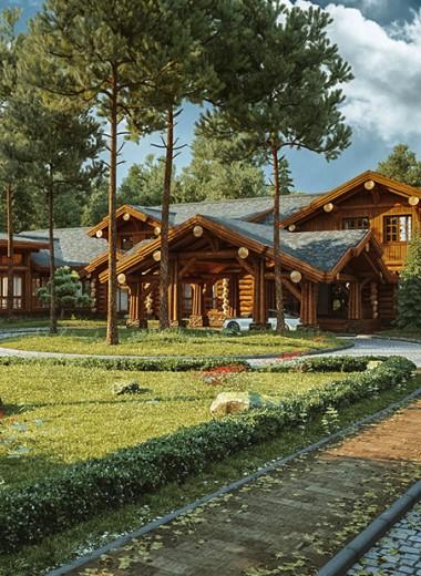 Умный — значит деревянный: как Smart Wood вернула моду на дома из дерева