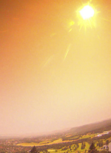 Яркий метеор на миг превратил ночь в день: видео