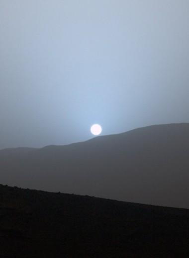 Как выглядит закат на Марсе, Венере и других планетах: восхитительная симуляция NASA