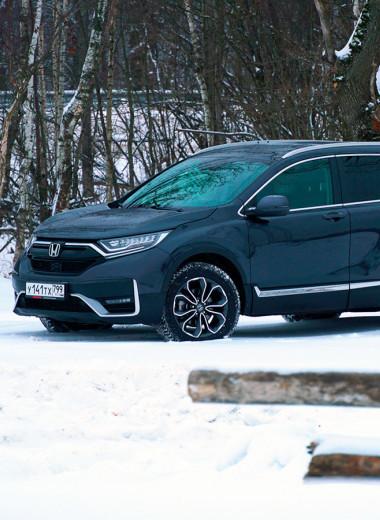 Honda уходит из России. Прощаемся в компании с обновленной CR-V