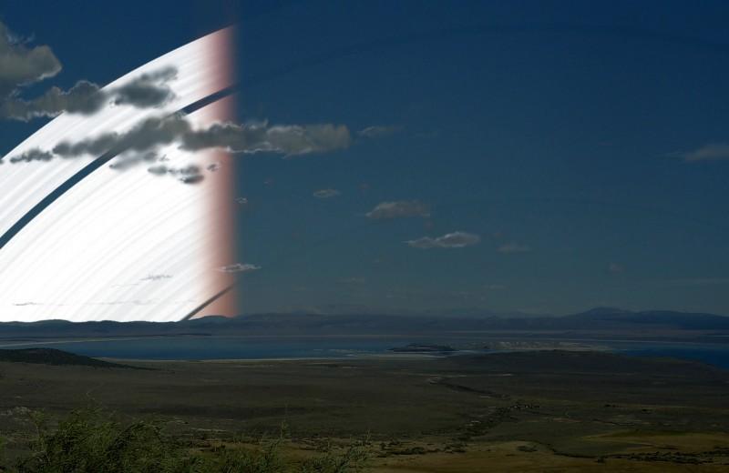 Что если бы Земля имела кольца как у Сатурна