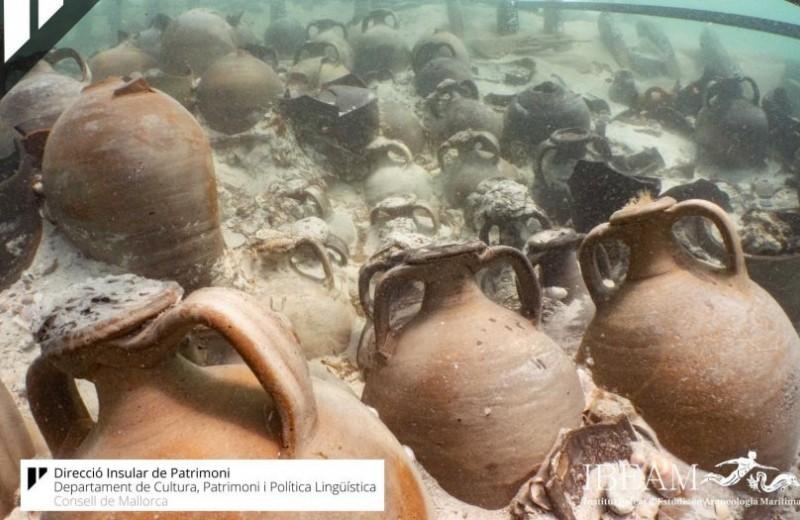 У берегов Мальорки нашли затонувшее древнеримское судно