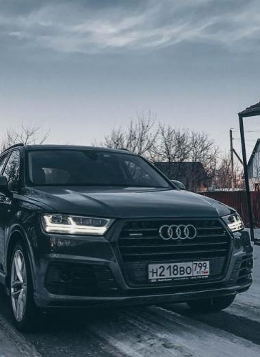 Лёгкость бытия: тест Audi Q7 3.0 TFSI