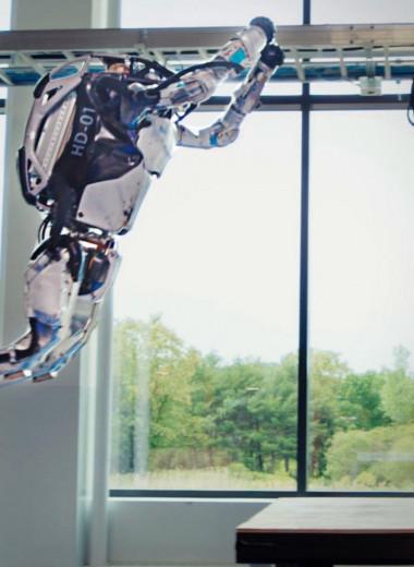 Андроид-гимнаст от Boston Dynamics: видео