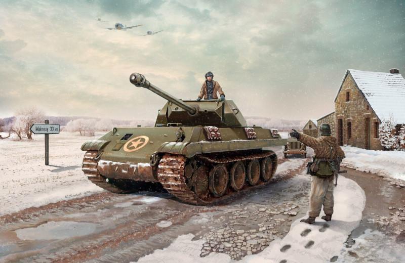 Конец операции «Гриф»: как немцы в американскую униформу переодевались и что из этого вышло