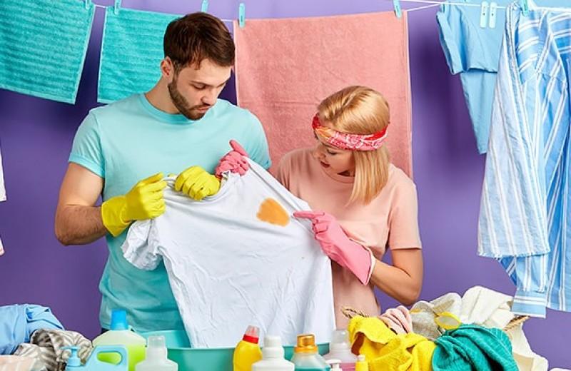 Как убрать жирное пятно с одежды: лучшие способы