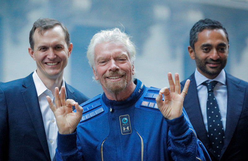 Акции Virgin Galactic выстрелили после полета Брэнсона: пора ли их покупать