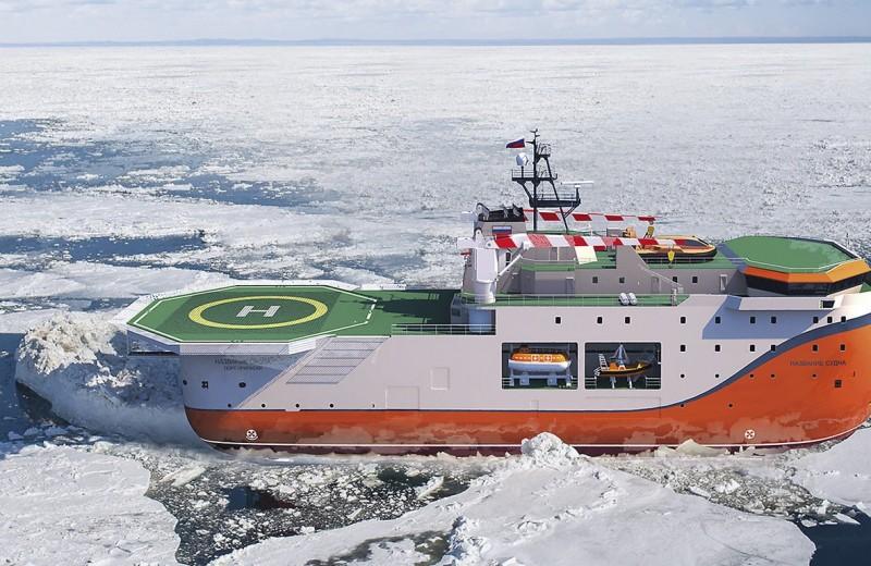 Арктический монстр: плавучая платформа