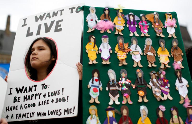 TikTok против убийств и расизма. Как алгоритмы соцсети помогают индейцам Канады бороться за жизнь и права