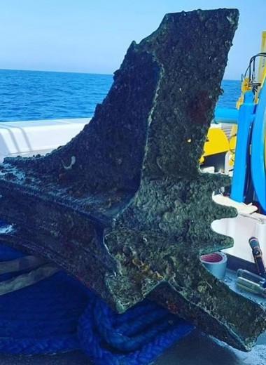 У берегов Сицилии обнаружили четыре древних тарана. Они помогли римлянам победить Карфаген